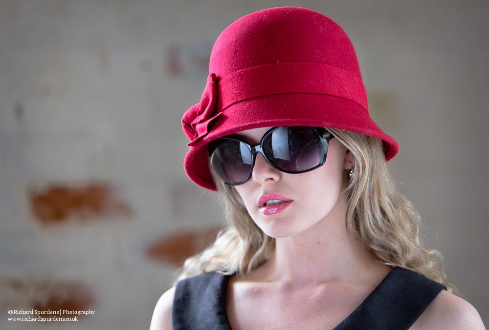 carla in red hat